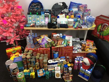 Not a bad effort by #TeamMara! Our Christmas gift haul for the Samaritans and Soul Café