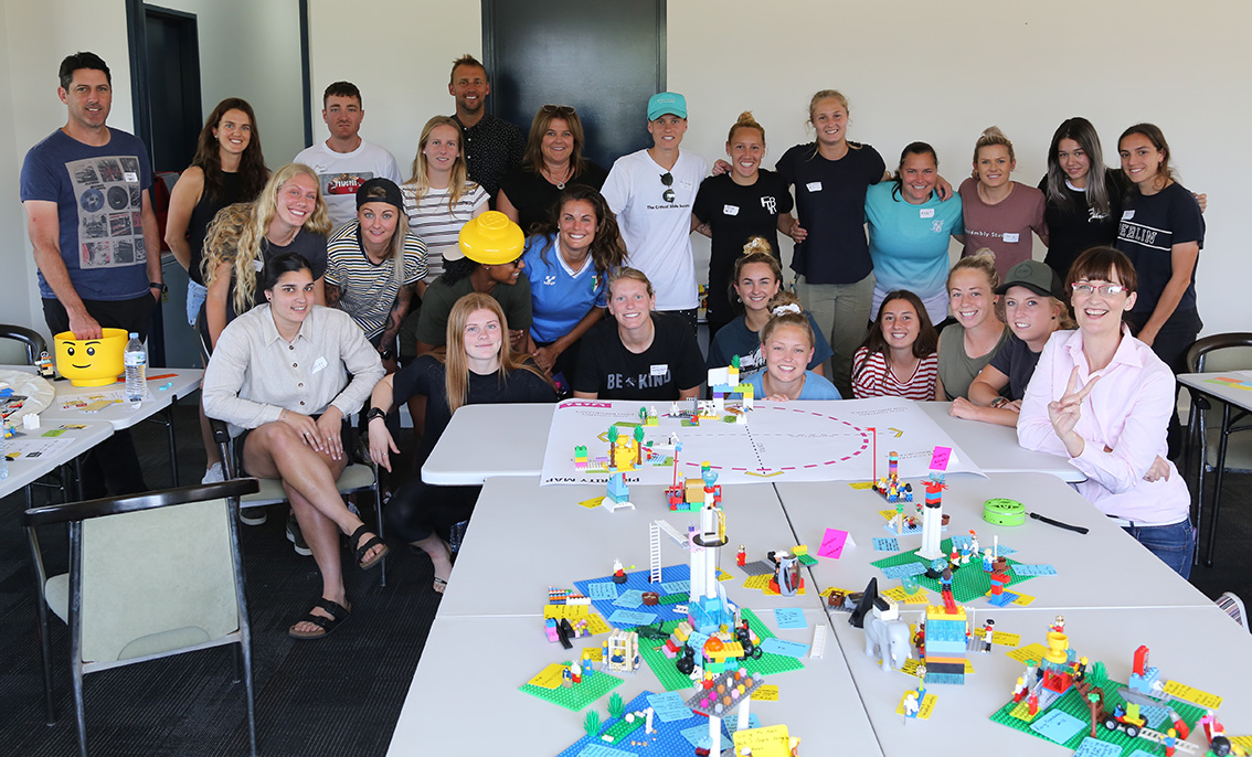 Newcastle Jets Lego Serious Play workshop