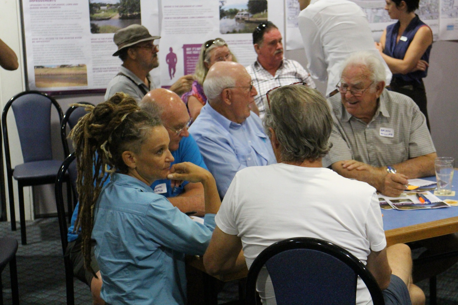 Participants at a Lorn Riverbank stakeholder workshop