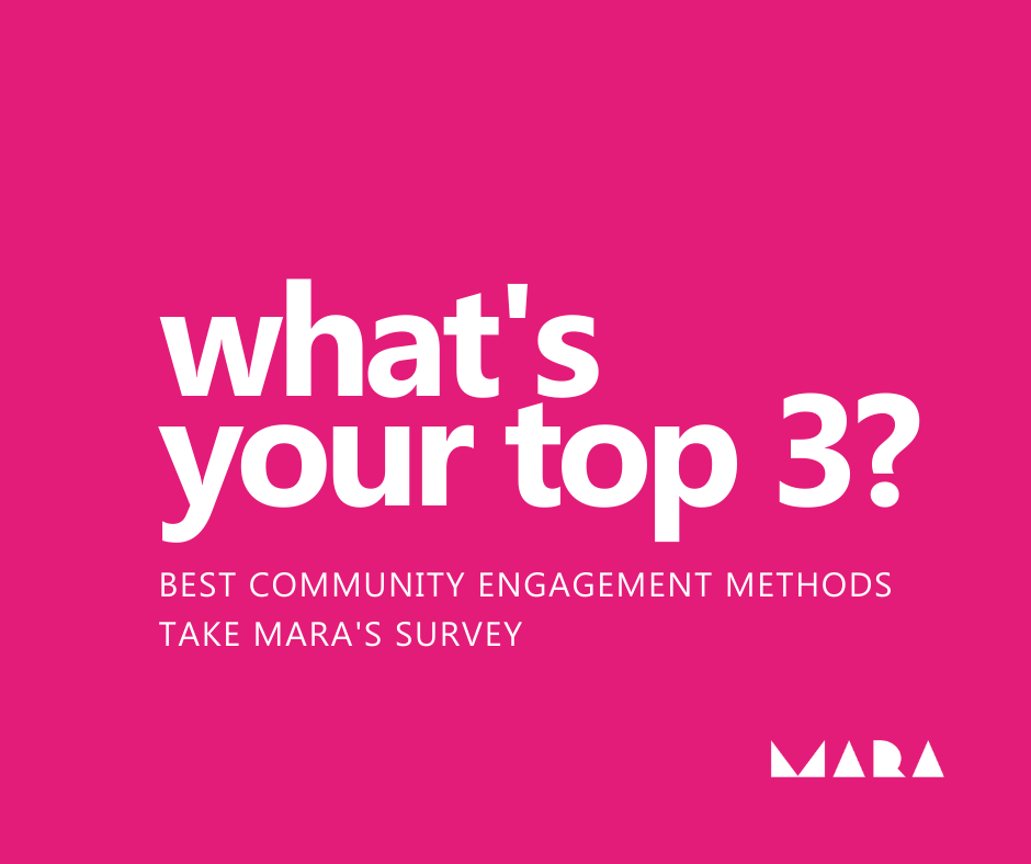 What's your top 3 engagement ideas